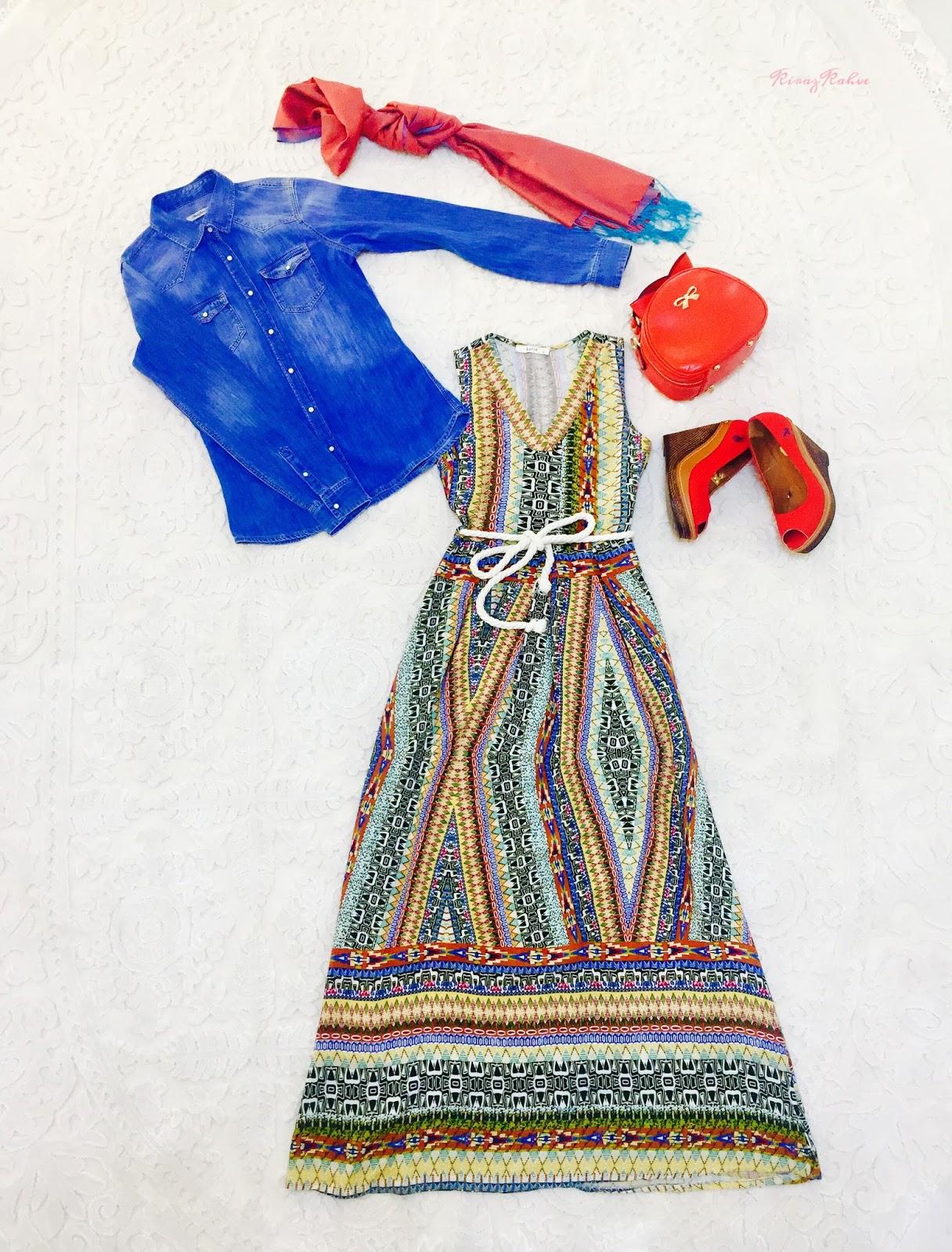 Günlük Tesettür Kıyafet Kombini