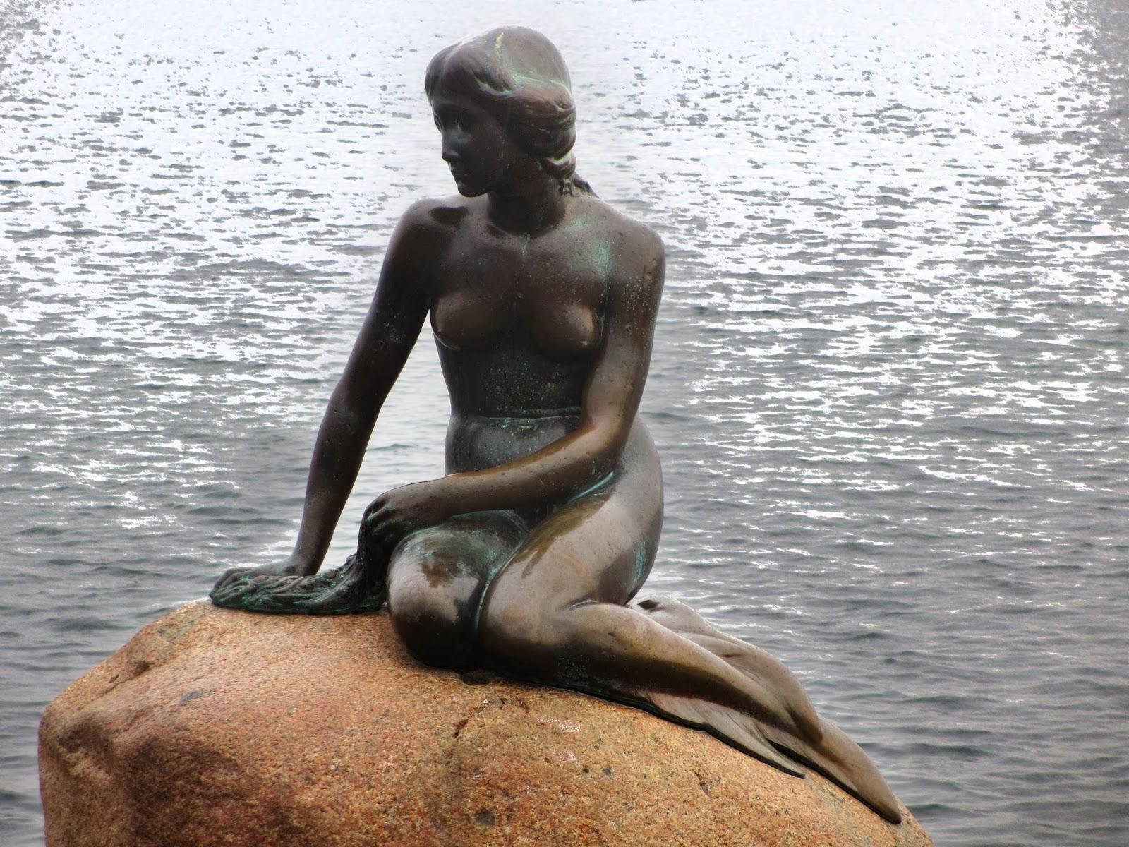 A Pequena Sereia de Copenhaga, um conto de Hans Christian Andersen   Dinamarca