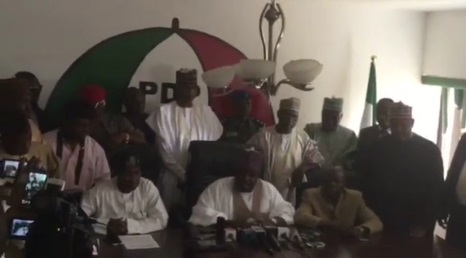 At Last, Sheriff Gains Access To PDP Secretariat, Issues Strong Warnings To Factional Leaders, See Photos