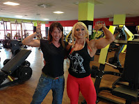Lisa Cross Female bodybuilding muscular