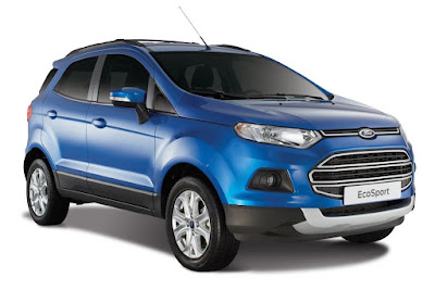 New 2016 Ford EcoSport SUV right side image