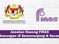 Jawatan Kosong di FINAS - Kekosongan di Semenanjung Malaysia dan Sarawak