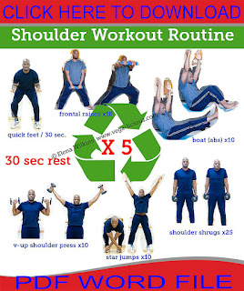 Workout,ab workouts,shoulder workouts,chest workouts,back workouts