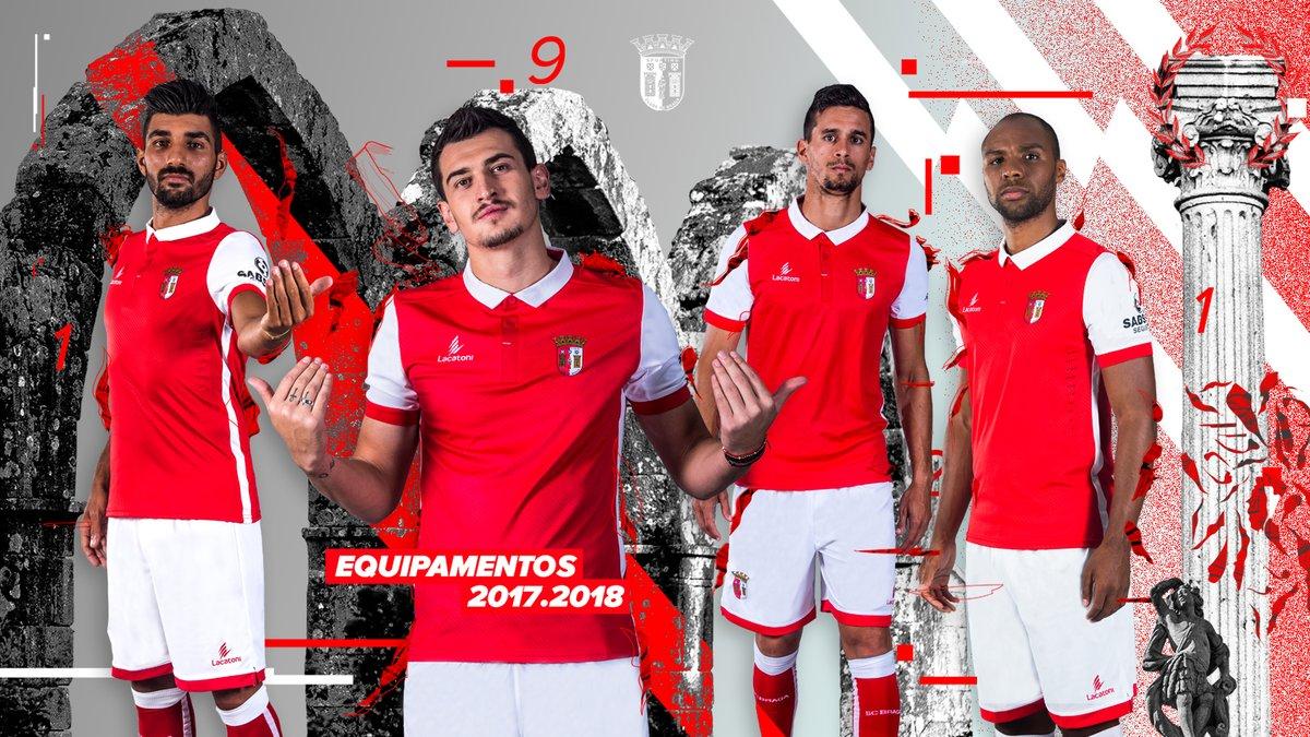 Sporting Braga: Sporting Braga 17-18 Home, Away & Third Kits Released