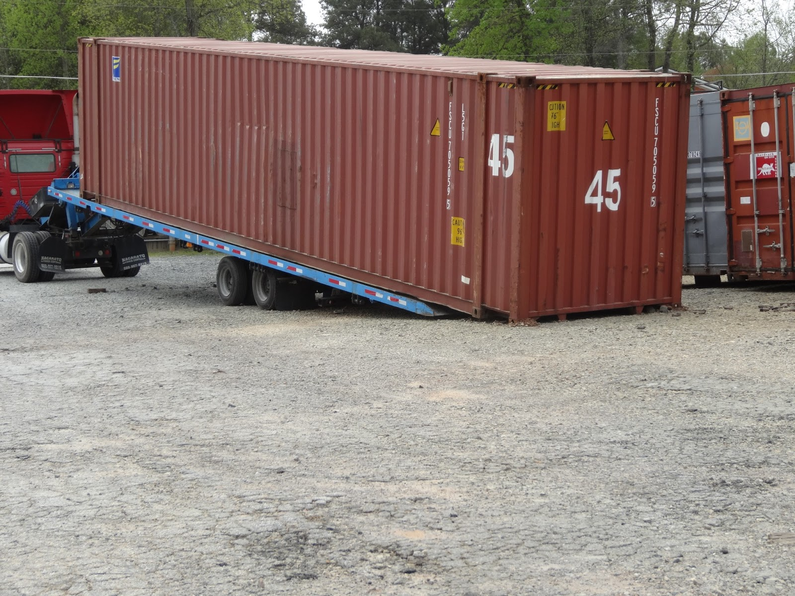 what is a hc container or high cube container atlanta used shipping containers and semi trailers. Black Bedroom Furniture Sets. Home Design Ideas