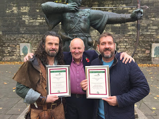 Robin Hood and Sherwood Forest Award Andy Gaunt Community Archaeology Nottinghamshire Mercian Archaeological Services