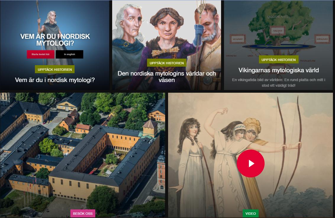 Kansallismuseon verkkosivu pyrkii lähinnä vain innostamaan näyttelyyn  tulemiseen ja pääsymaksun maksamiseen 3f83cffc8b