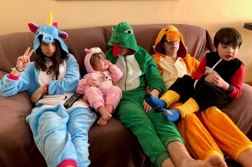 Los primos en pijama