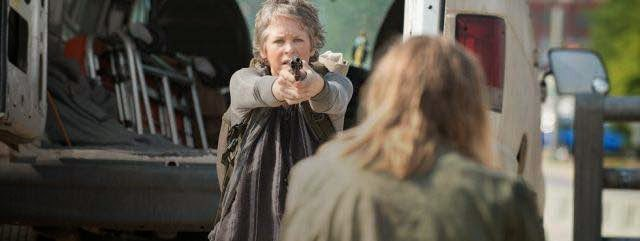 Melissa McBride Carol en The Walking Dead AMC