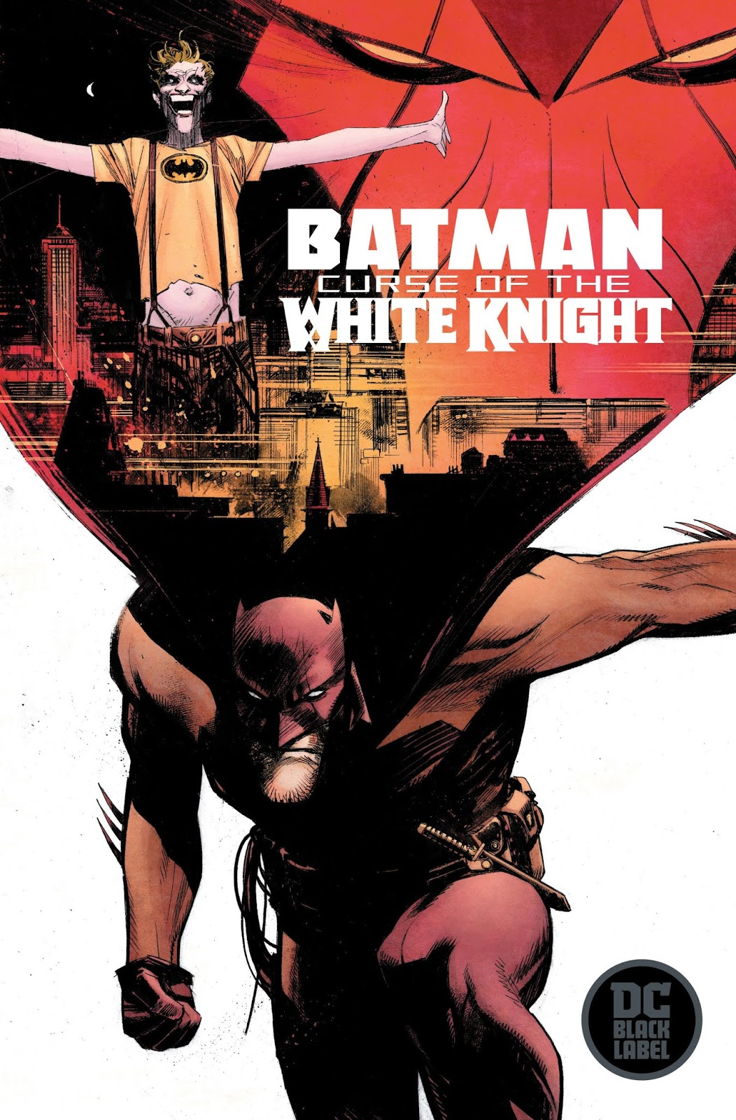 Batman: Curse of the White Knight Cover