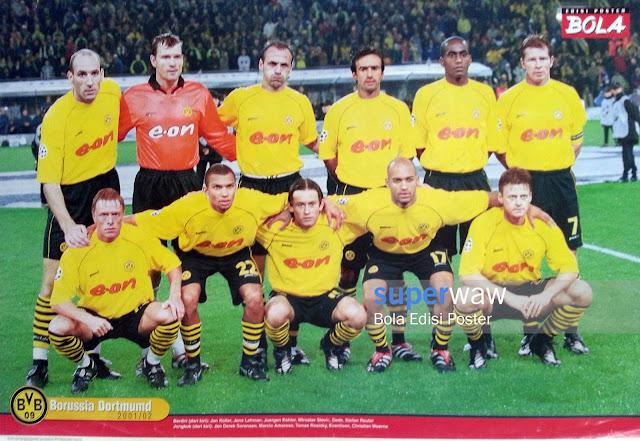 Poster Tim Borussia Dortmund 2001