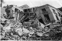 Devastación en Valdivia en 1960