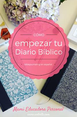 Cómo empezar a realizar tu Diario Bíblico personal. Los mejores consejos para principiantes.  Y la Biblia de Apuntes en Guatemala.