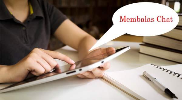 Gambar Cara Membalas Chat Pembeli Online Shop Dengan Baik Dan Benar