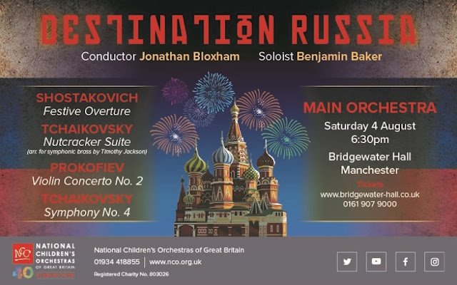 Destination Russia - National Children's Orchestra, Jonathan BLoxham