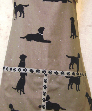 Dog themed cushion by Basket Boutique