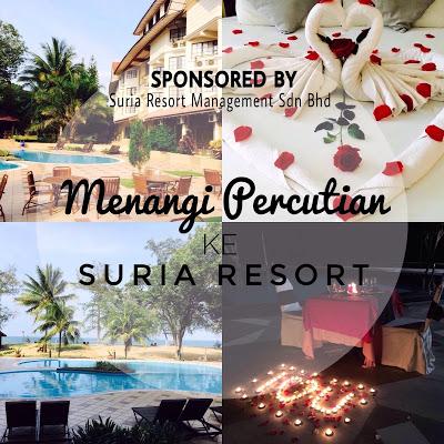 Menangi Percutian Ke Suria Resort
