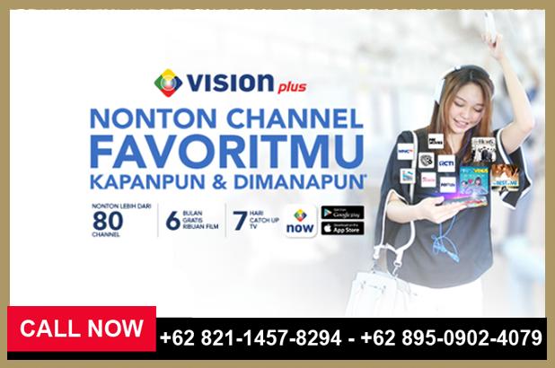 Promo MNC Vision 2018, Bayar 9 Bulan Nonton 12 Bulan