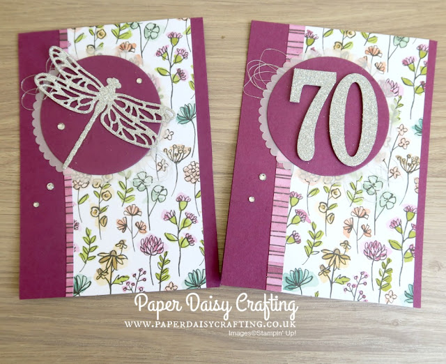 Detailed dragonflies Share what you love Stampin Up