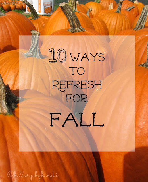 Get ready for fall with these 10 ideas for your home, wardrobe and life.