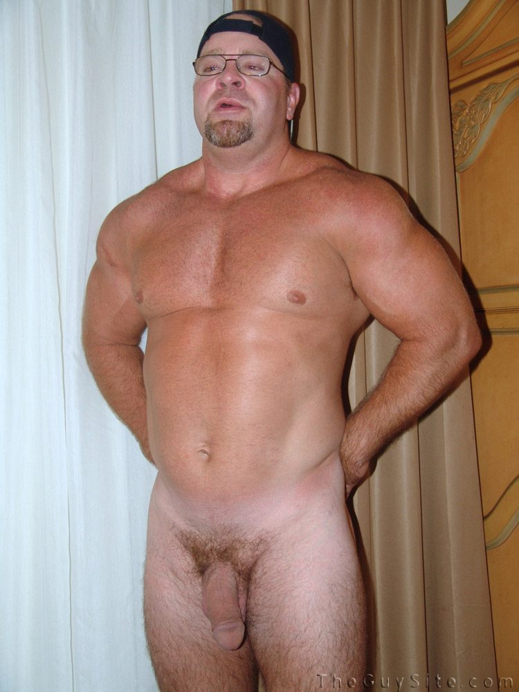 Naked chubby musclemen images