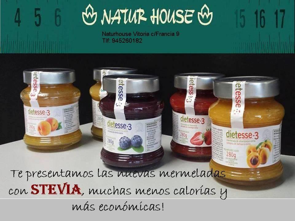 Mermeladas con Stevia ~ Naturhouse Alboraya-Av Campanar Nº8