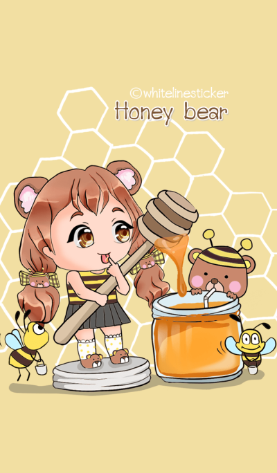 Honey bear theme