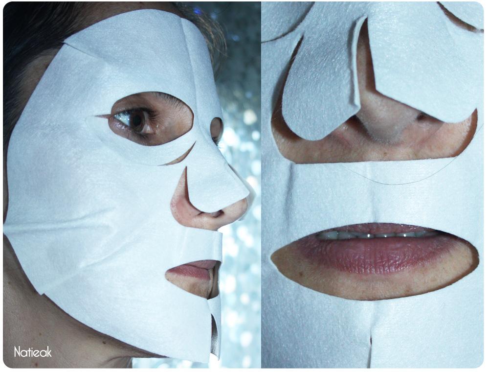 Masque Facial Lifting hydratant hydrogel de Joliderm