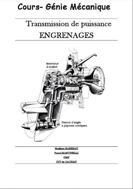 Télécharger : transmission de puissance Engrenages