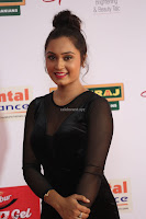Vennela in Transparent Black Skin Tight Backless Stunning Dress at Mirchi Music Awards South 2017 ~  Exclusive Celebrities Galleries 053.JPG