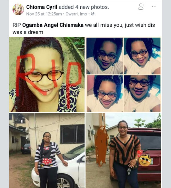 Beautiful Imo State University Girl Slump After She Defend Her Project | Photos