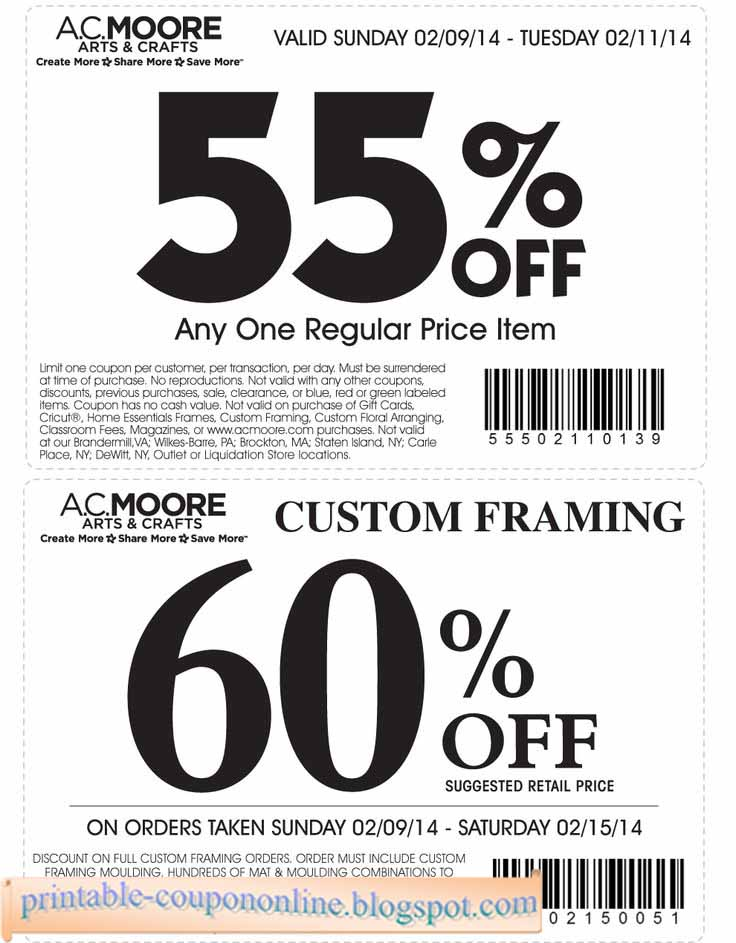 picture regarding Home Goods Coupon Printable named Ac moore inside retail outlet coupon code - Halo heaven coupon code 2018