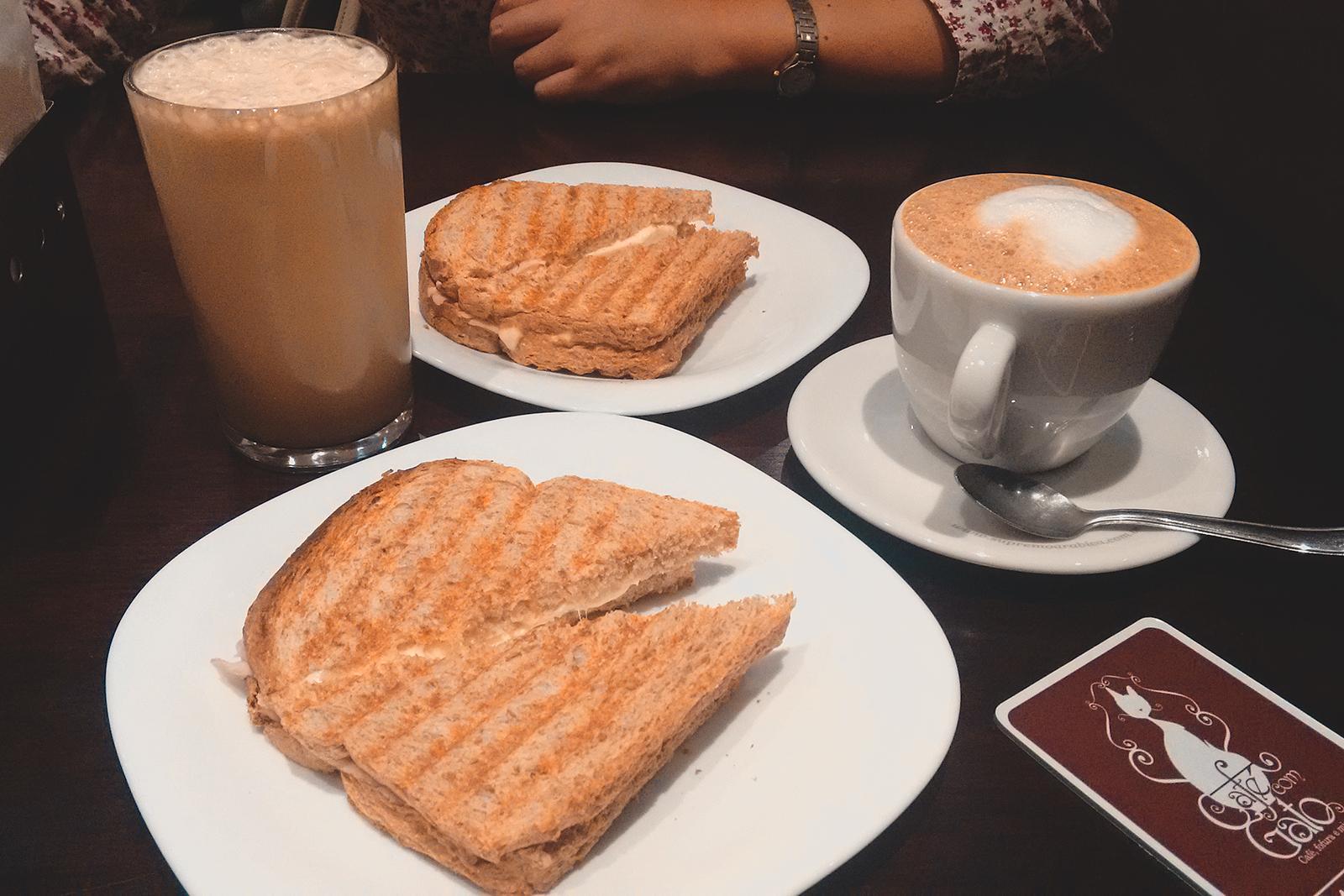 café e lanche