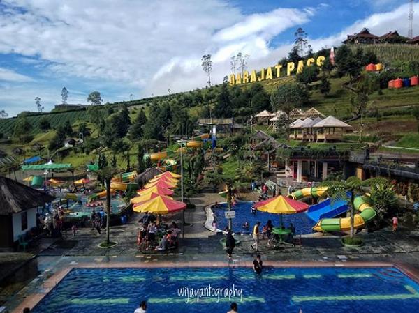 Tempat wisata di garut darajat pass