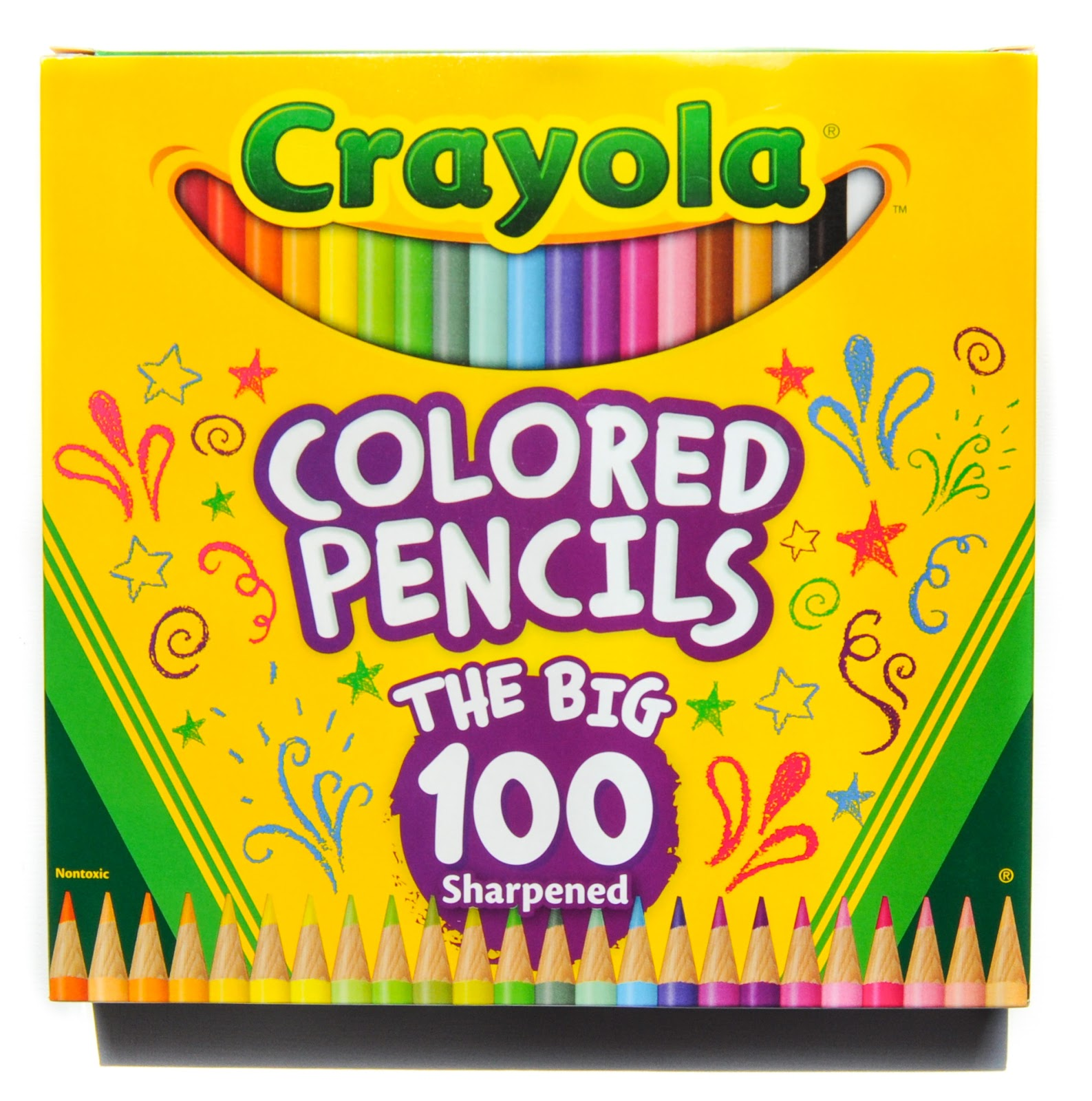 crayola 100 colored pencils  what u0026 39 s inside the box