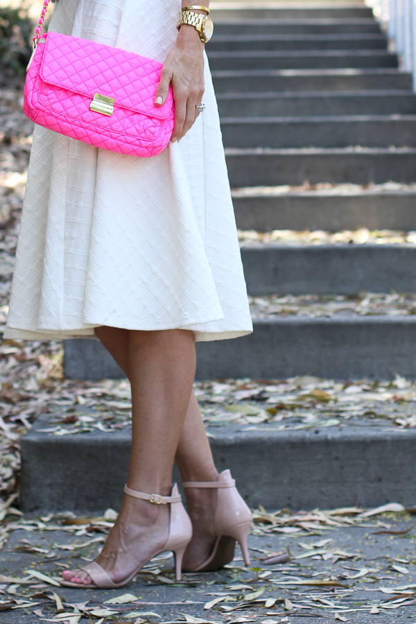 pink quilted cross body bag macys