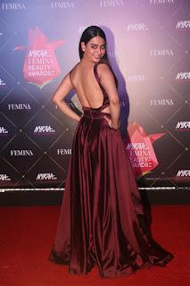 Soundarya Sharma At Nykaa Femina Beauty Awards 2019