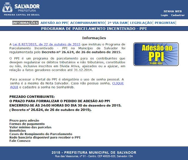 ppi salvador 2016