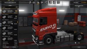 DAF XF Euro 6 Edit Mod