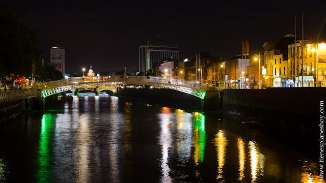 Noche Dublin Irlanda