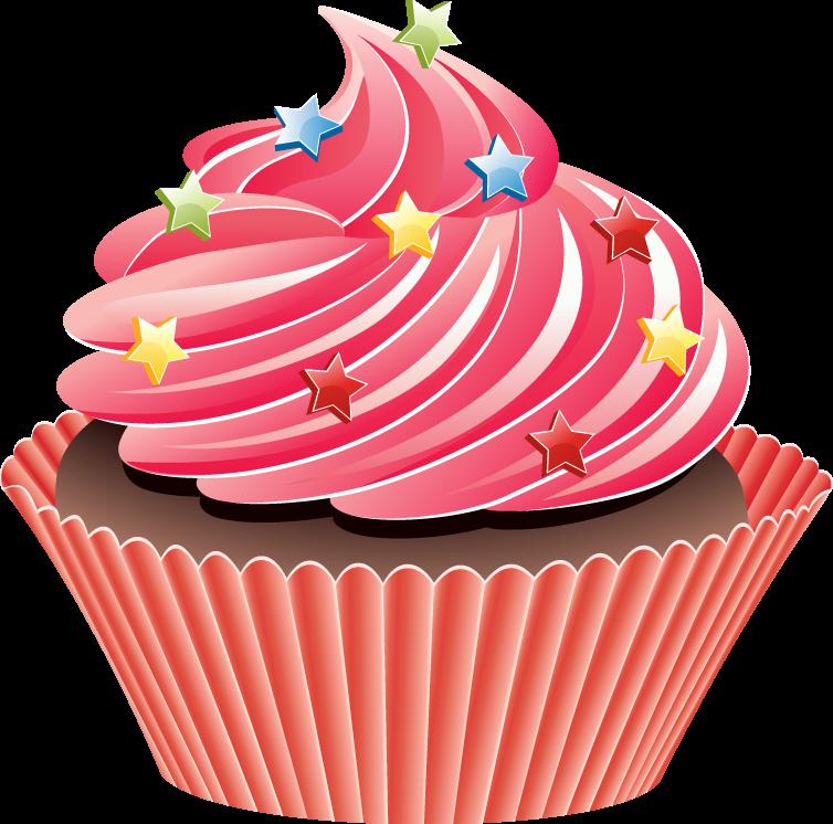 Dibujos de cupcakes para imprimir imagenes y dibujos - Decorer un vase transparent ...