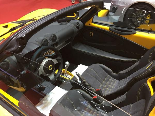 Interior Lotus Elise 220 Sport