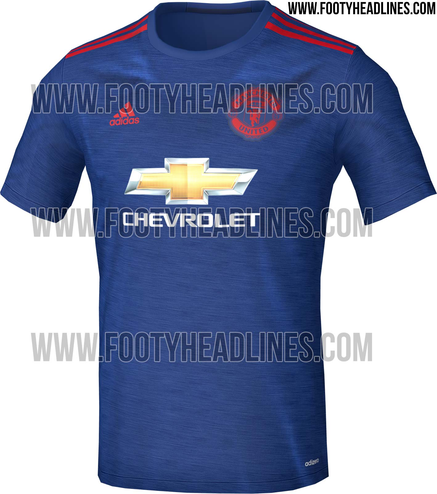 Manchester United 2016-17 Kit | Home, Away Jersey