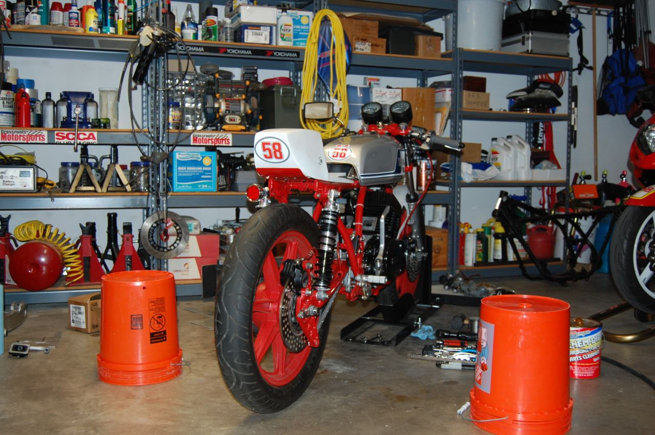 Project RD400 Racer: Tuning,Tweeking & Confusion
