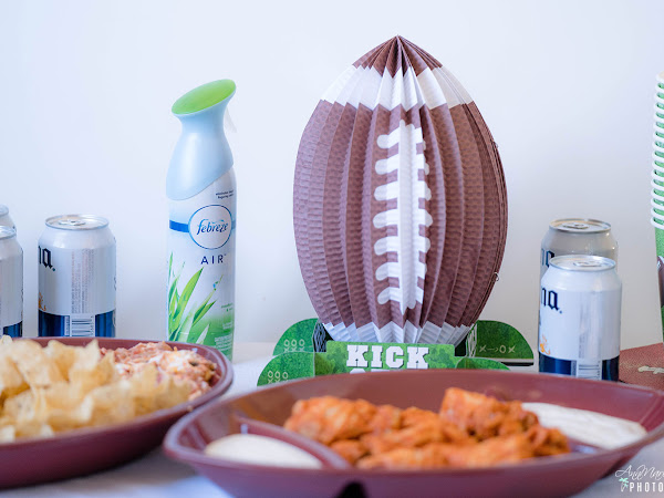 4 Ways to Ensure an Awesome Super Bowl Party ~ #PartyPrepWithFebreze