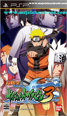 Naruto Shippuden Narutimate Accel 3 ISO PPSSPP