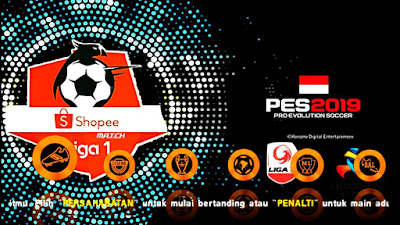 PES 2019 PPSPP Jogress v3.5 Shopee Liga 1