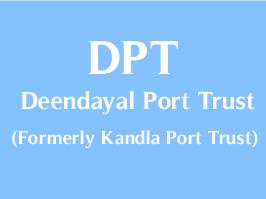 Deendayal Port Trust (DPT) Recruitment for Senior Deputy Traffic Manager &  Dy. Chief Engineer (Civil) Posts 2018 ~ Updates :: MaruGujarat :: Official  Site :: Maru Gujarat ::