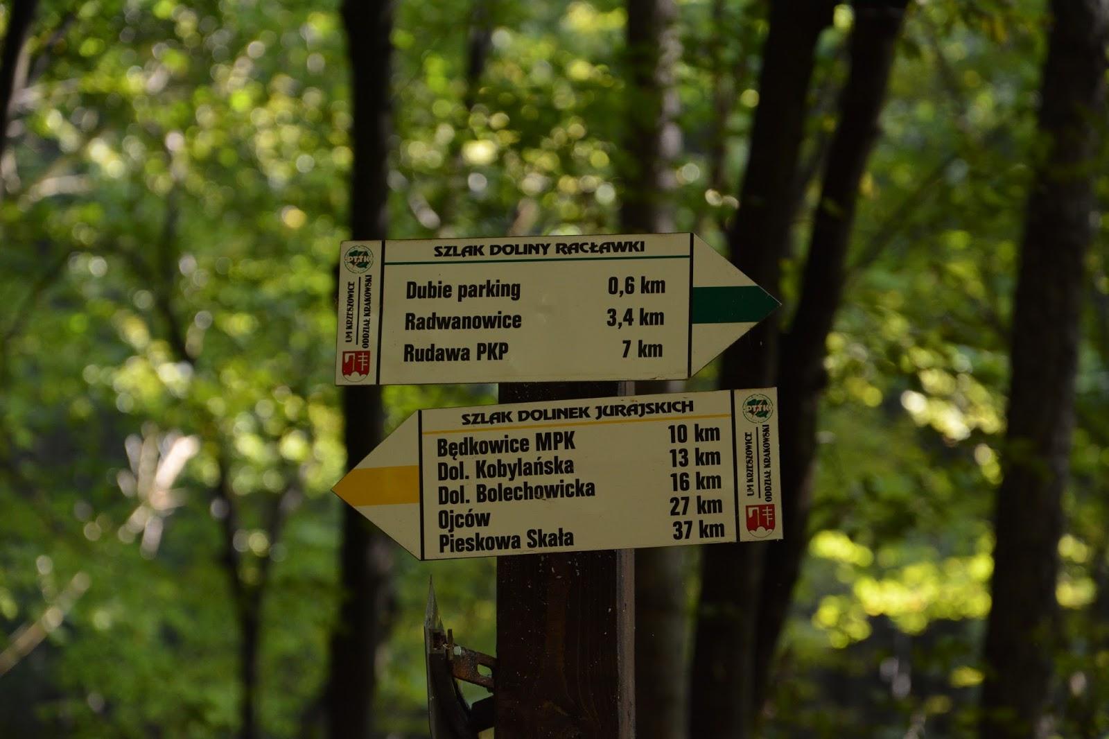 Dolinki Krakowskie: Rezerwat Doliny Racławki – niebieska ścieżka dydaktyczna
