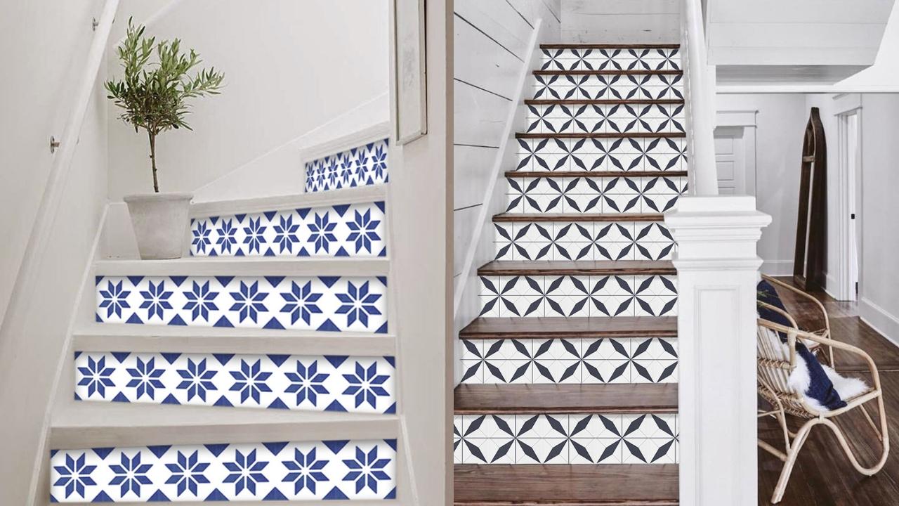 Naklejki na schody